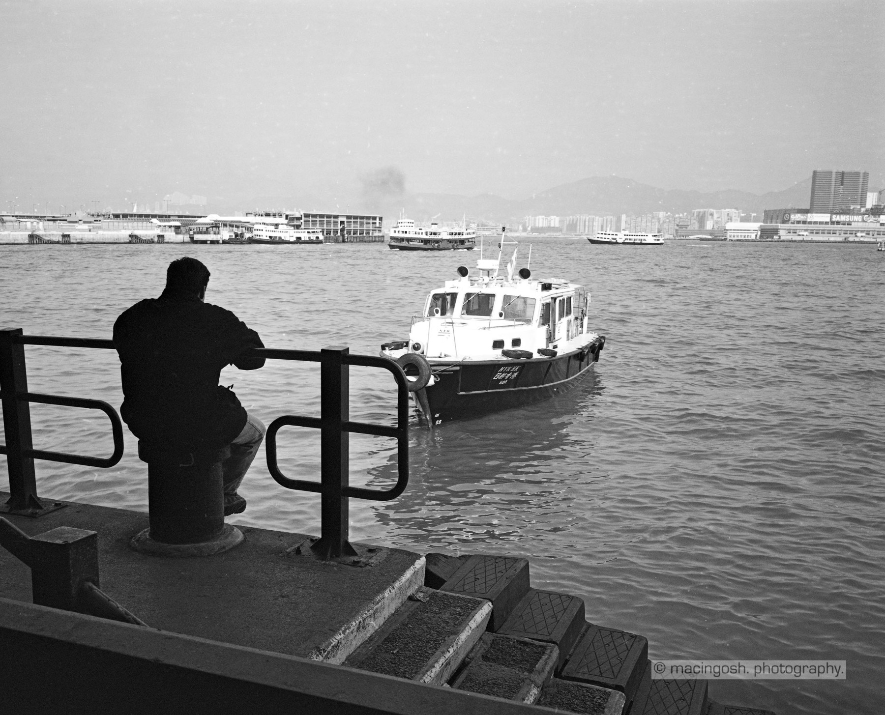 The harbour of Hong Kong, macingosh photographie