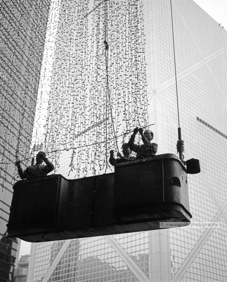 Industrial climbers, Hong Kong, macingosh photographie