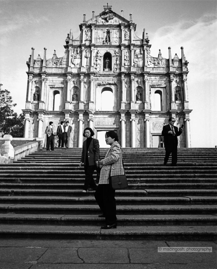 ruinas de la catedral de san pablo, macao, macingosh photography