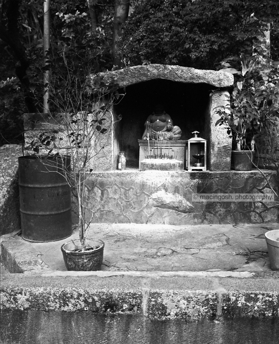 Buddhist shrine on Lantau island, macingosh photography