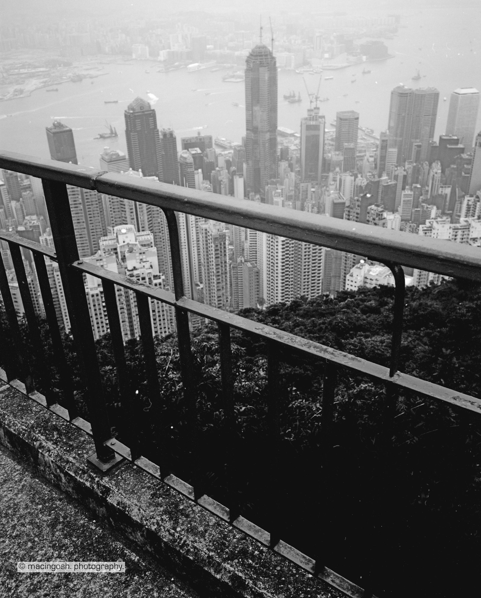 Victoria Peak, Tai Ping Shan, Hong Kong, macingosh photography