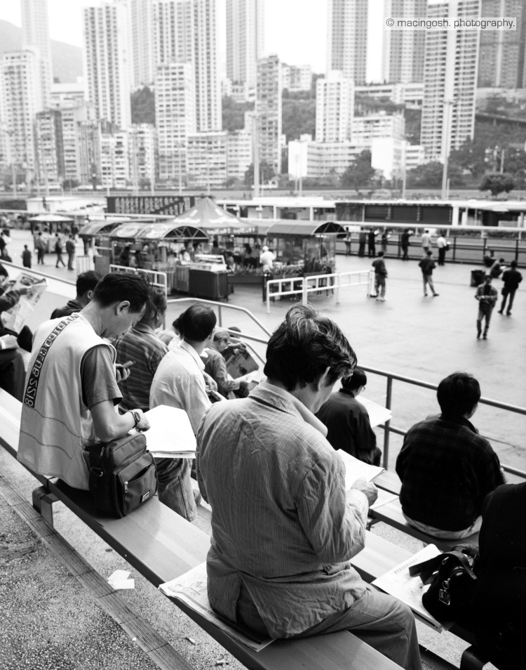 Sha Tin racecourse, Hong Kong, macingosh photography