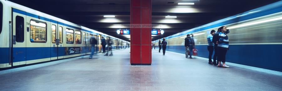 U-Bahn-Station, Am Harras, Muenchen, macingosh