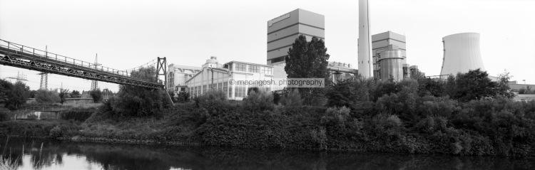 Panorama Voelklingen, FUJI GX617, macingosh photographie, Muenchen